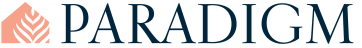 Paradigm interior design logo