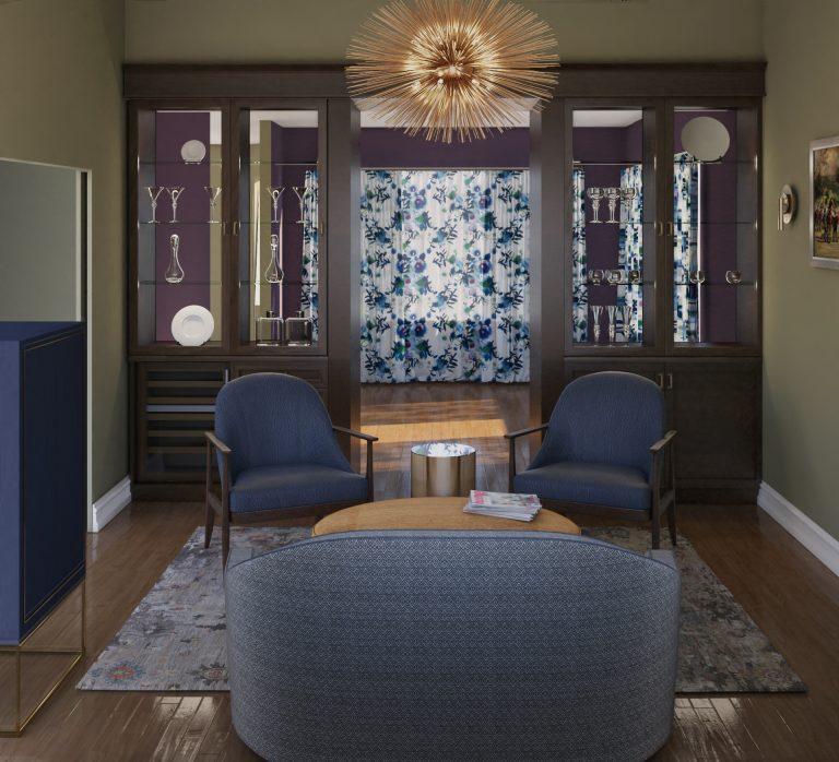 Elegant interior space