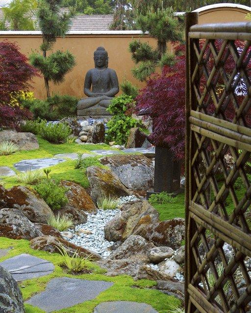 Asian Garden by Margie Grace - Grace Design Associates