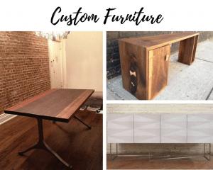 Custom Furniture design by Paradigm Interiors in Boulder Colorado