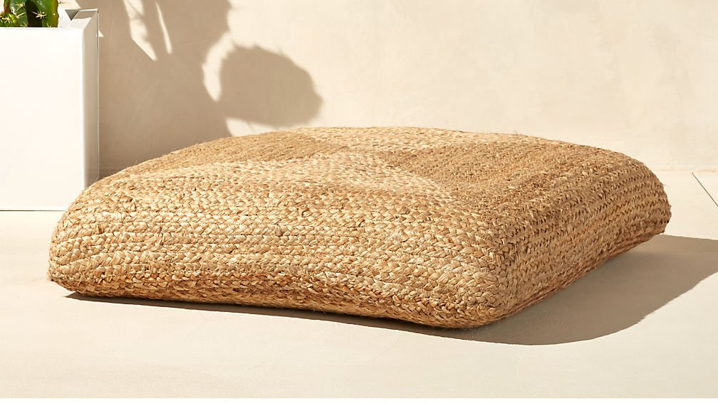CB2 Jute Pillow