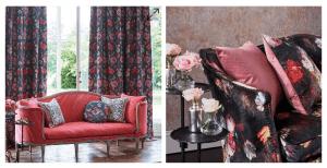 Beautiful floral furniture interior design ideas