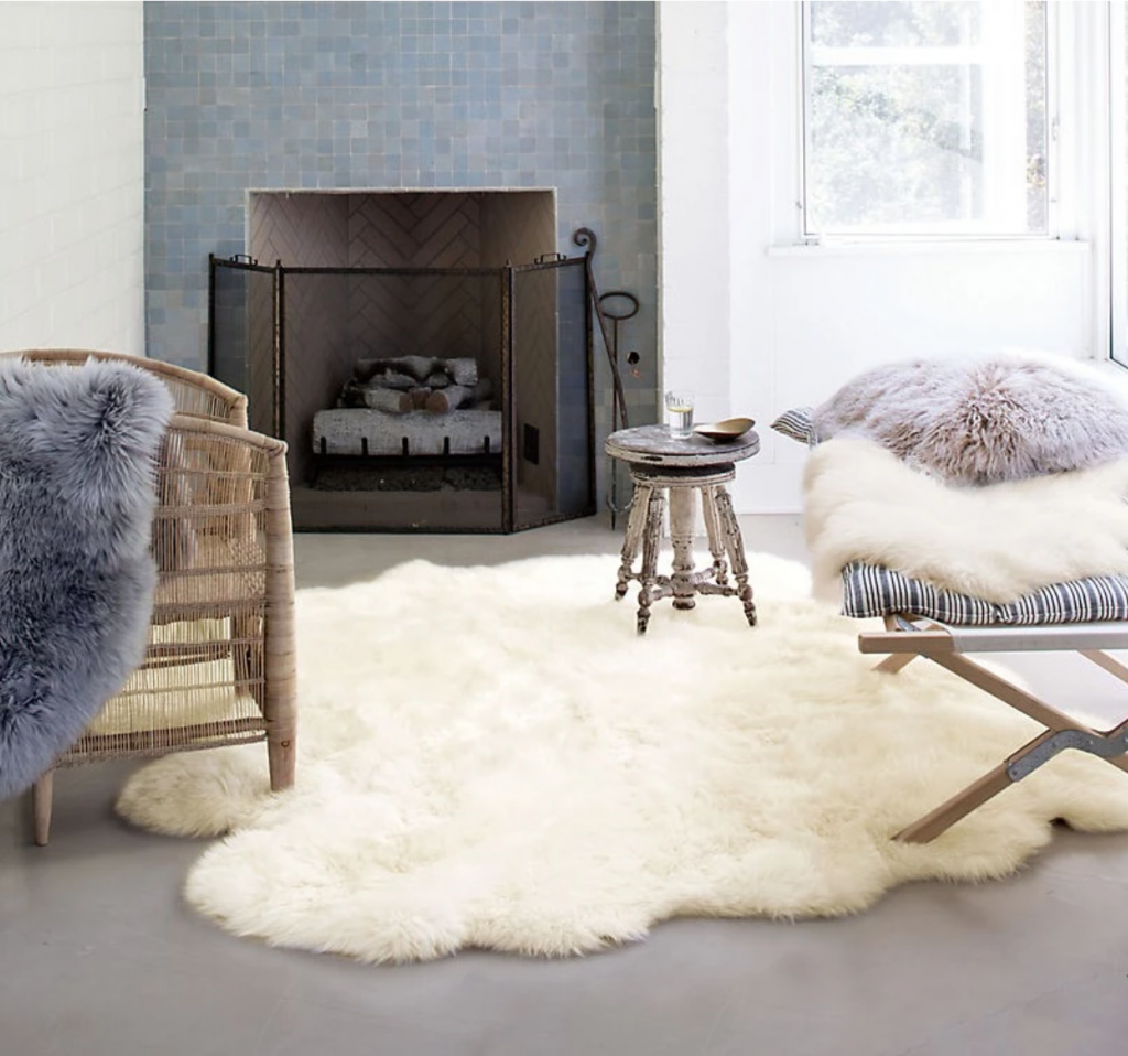Cozy hygge rug decorative ideas