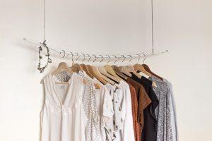 Minimal clothes hanging
